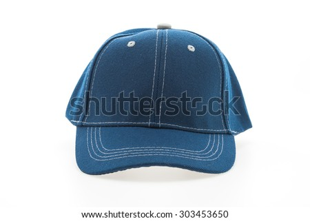 Baseball cap isolated on white background