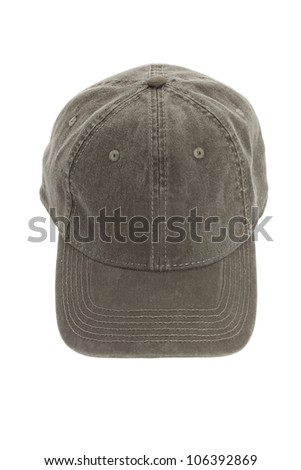 Baseball Cap with white background