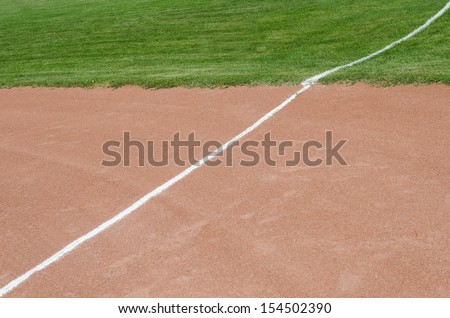 Baseball Diamond - stock photo