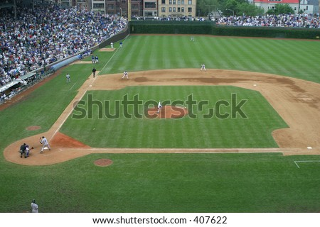 Baseball Game - stock photo
