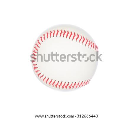 Baseball isolated on white background - stock photo