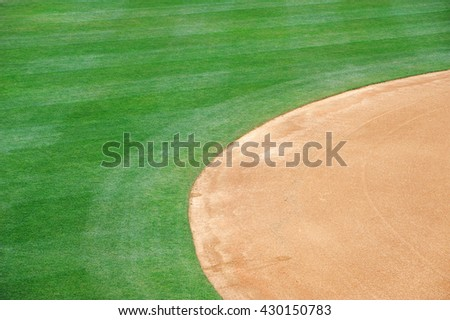 baseball playing field