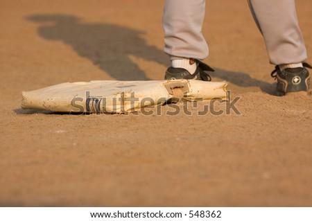 Baseball runner - stock photo