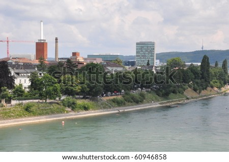 Basel in Switzerland - stock photo