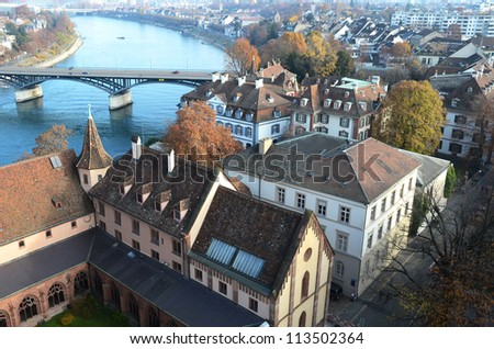 Basel, Switzerland - stock photo
