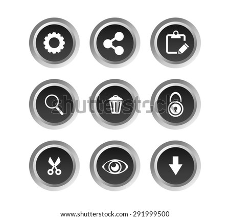 basic application buttons