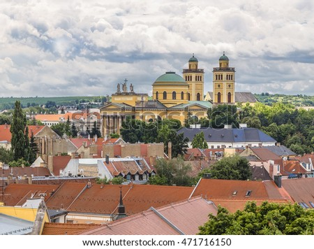 Basilica of St. John the Apostle and Evangelist, St. Michael and the Immaculate Conception. Eger. Hungary