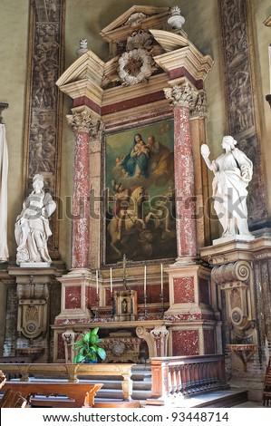 Basilica of St. Mary of Steccata. Parma. Emilia-Romagna. Italy. - stock photo