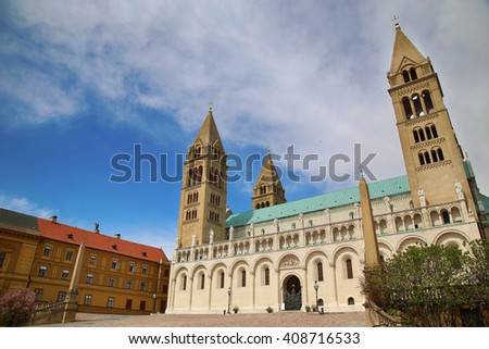 Basilica of St. Peter & St. Paul, Pecs Cathedral in Hungary
