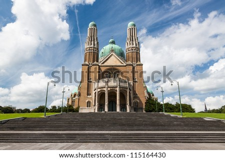 Basilica of the Sacred Heart (Koekelberg) in Brussels, Belgium