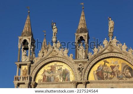Basilica San Marco, Venice, Veneto, Italy - stock photo