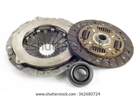 Basket clutch plate disk release bearing - stock photo
