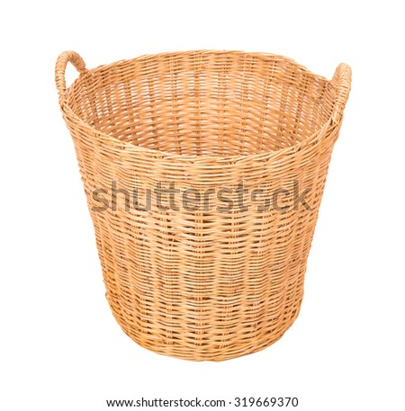 Basket wicker is Thai handmade
