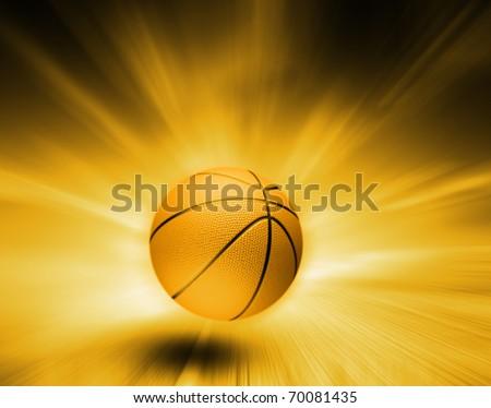 Basketball background - stock photo