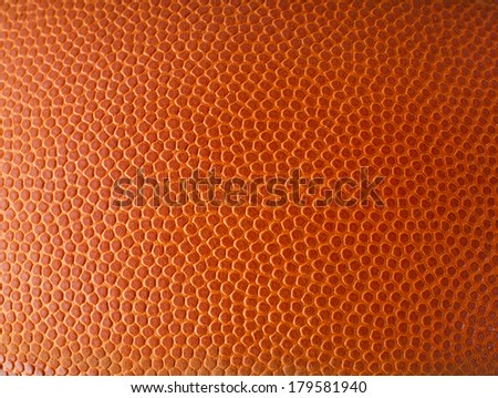Basketball ball detail leather surface texture background  - stock photo