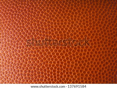 basketball leather texture - stock photo