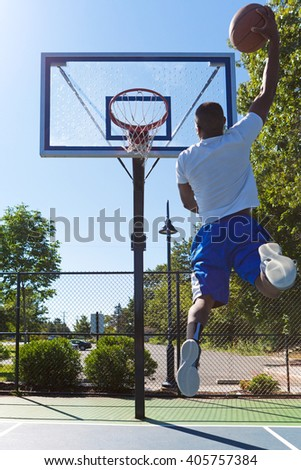 Basketball Monster Jam - stock photo