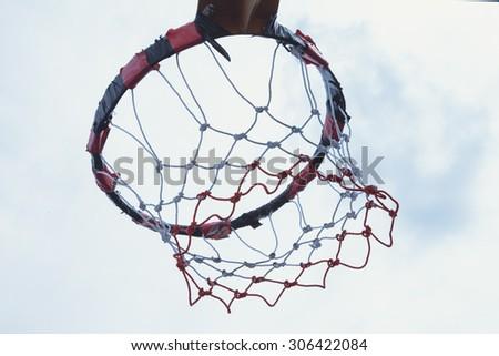 Basketball Shooting keys - stock photo
