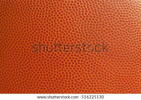 Basketball texture shot close up