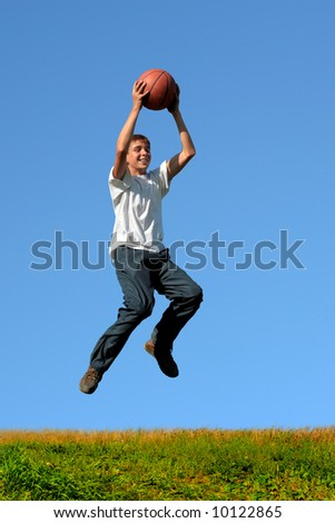 basketball training - stock photo