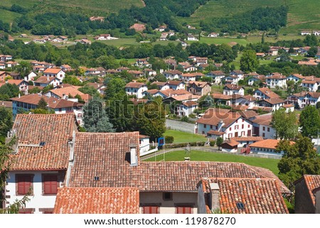 Basque Country, Aquitaine, France - stock photo