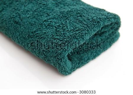 bath towel - stock photo