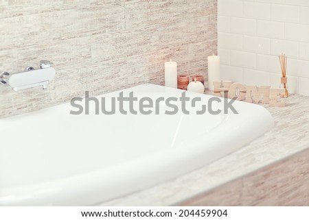 bathroom  Nina Buday s decor set on Shutterstock. Buday Bathroom