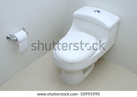 Bathroom. - stock photo