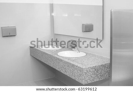 Bathroom. - stock photo