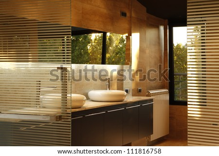 Bathroom and wellness interior