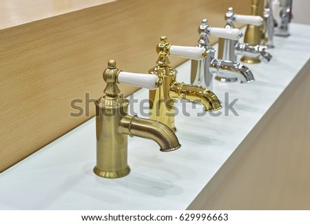 Bathroom faucets samples