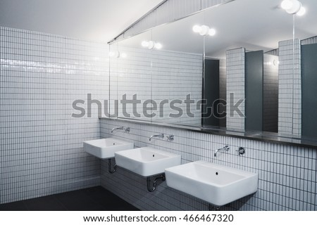 Bathroom Minimalist Style Commercial