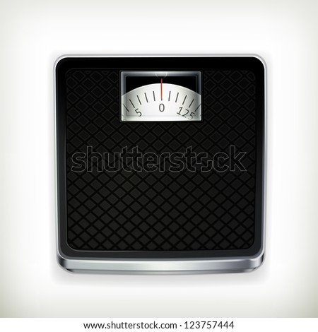 Bathroom scale, bitmap copy