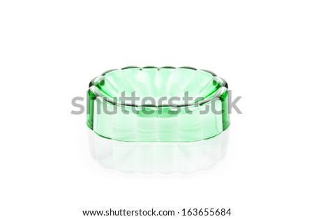 Bathroom soap accessory. Isolated on white background