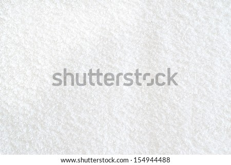 bathroom towel - stock photo