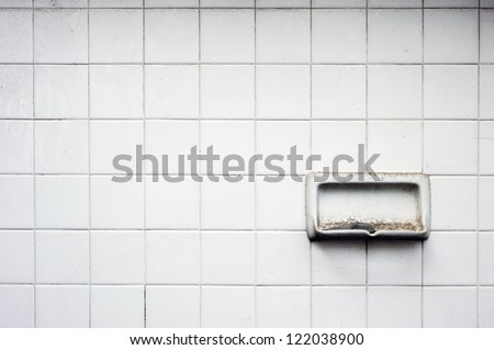 Bathroom Wall Tile for background - stock photo