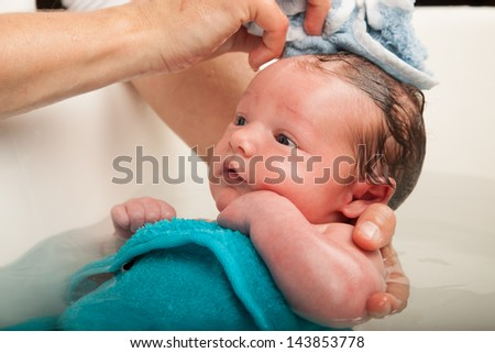 Bathtime - stock photo