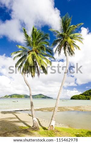 Batteaux Bay, Tobago - stock photo