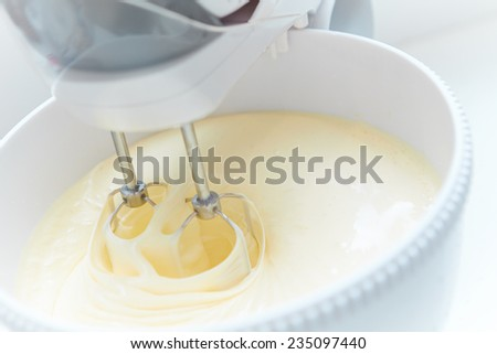 Batter Being Whipped