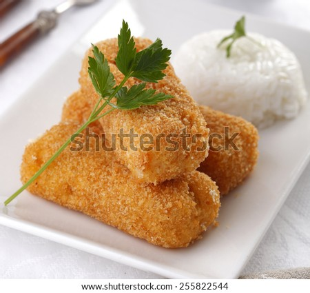 Battered cheese