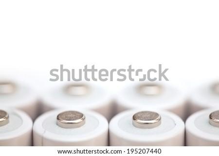 Batteries - stock photo