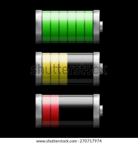 battery Charge - stock photo