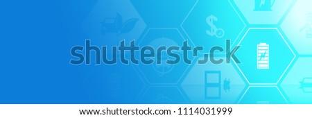 Battery Symbol Electric Car Accu Future Stock Illustration ...