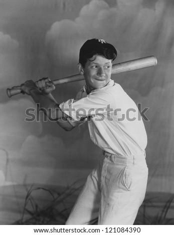 Batting practice - stock photo