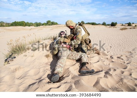 Battlefield medicine in the desert