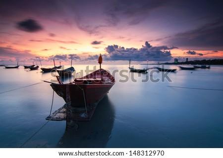 Battleship - stock photo