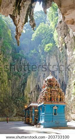 Batu caves. Kuala Lumpur. Malaysia. - stock photo