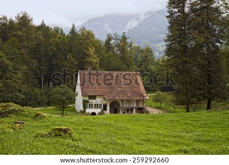 Bauernhaus von Therwil, Ballenberg Open-Air Museum