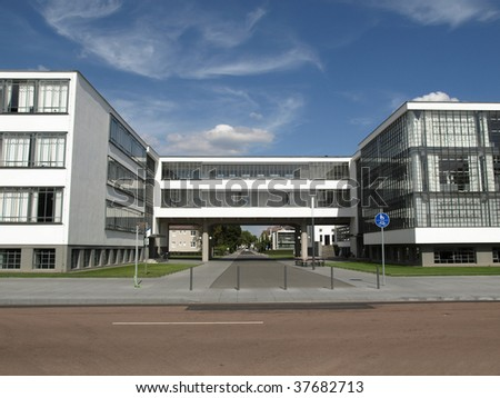 Bauhaus, Dessau, Germany (south of Berlin)