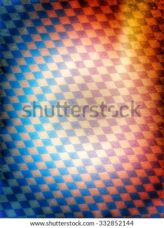 bavarian background texture - vintage style - stock photo